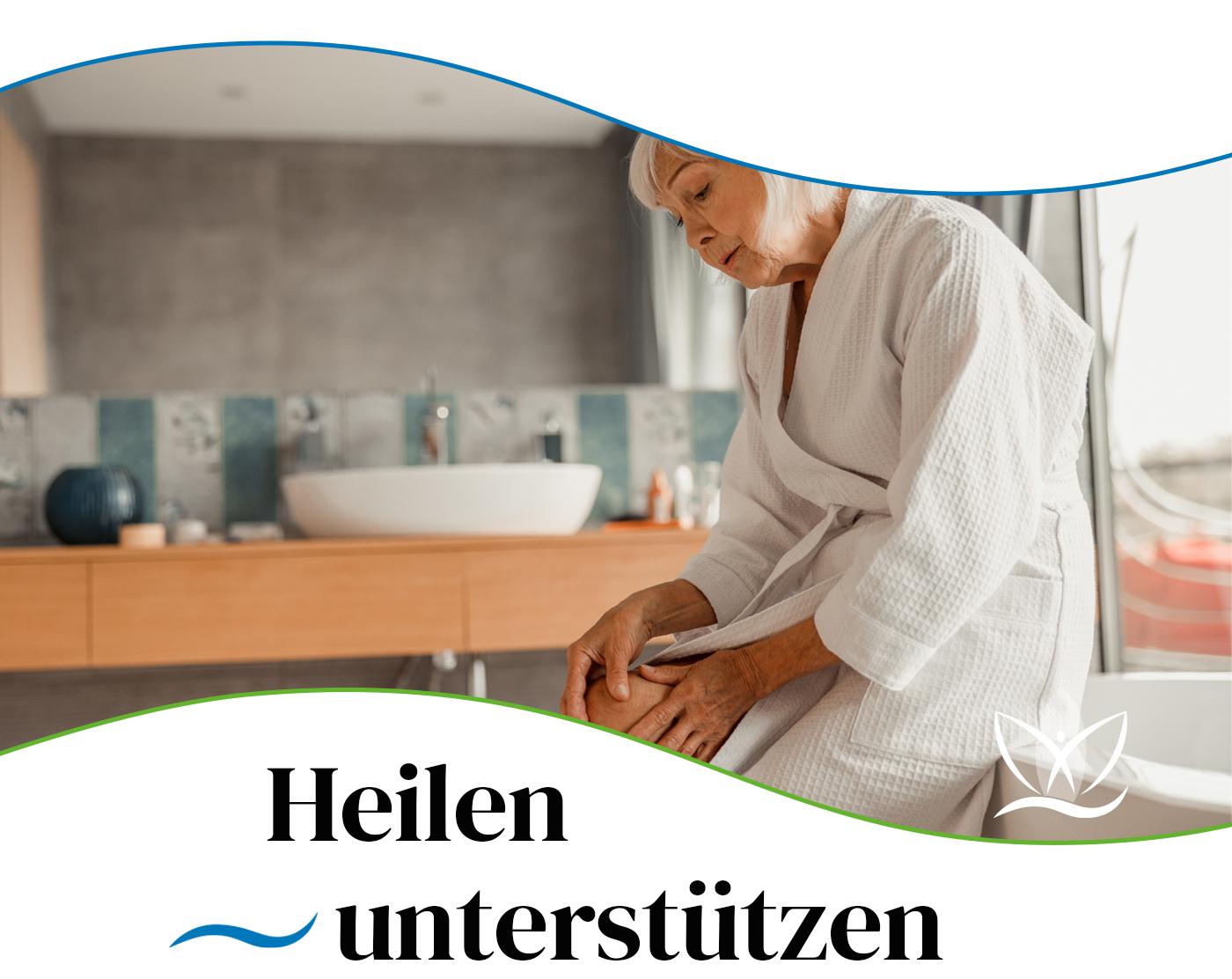 Das Badezimmer unterstütz bei Krankheiten
