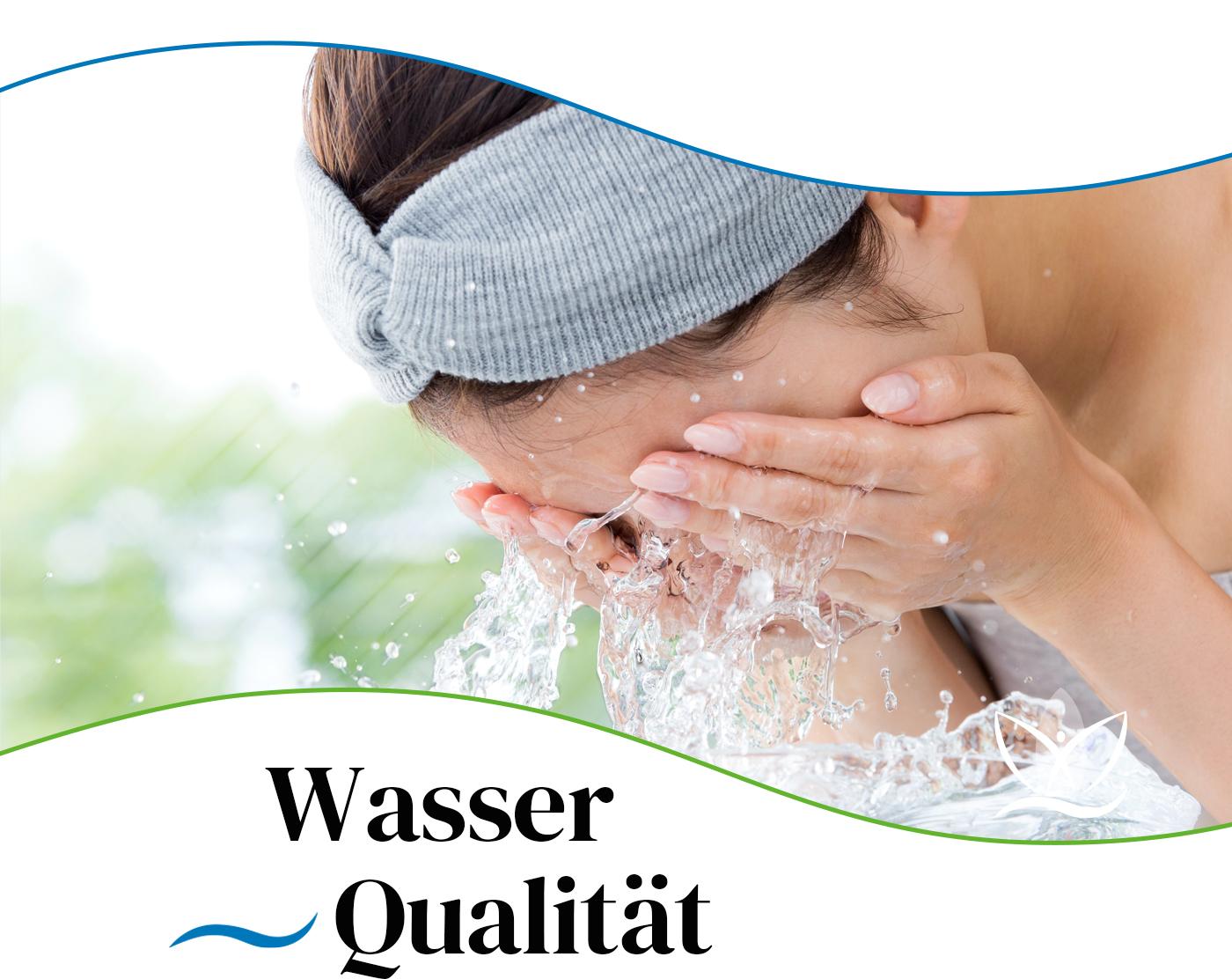 Die Wasserqualität im Badezimmer